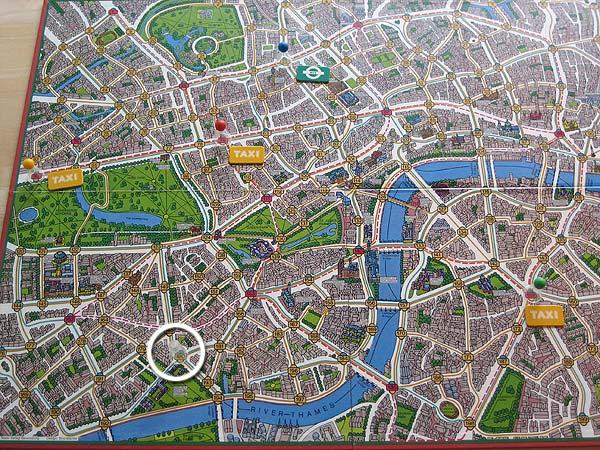 Spielanleitung Scotland Yard
