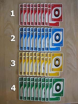 Uno Kartenspiel Anzahl Karten