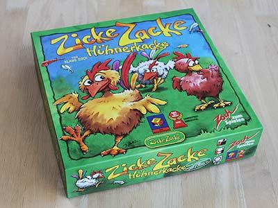 Zicke Zacke Hühner Spielanleitung